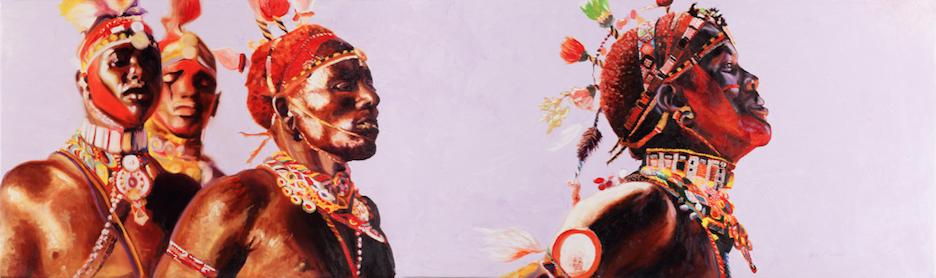 samburu warriors trance dance